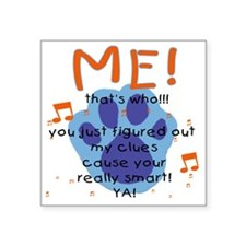 "my-blueback Square Sticker 3"" x 3"""