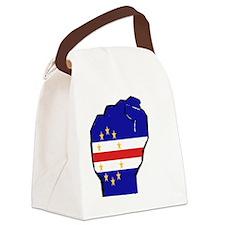 flagfist Canvas Lunch Bag