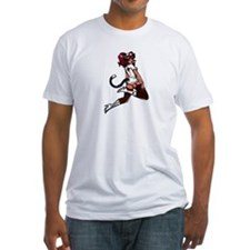 Nurse Kitty - Fitted T-shirt