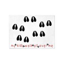 KidWalkHooves 5'x7'Area Rug