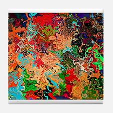 Beautiful Vomit Tile Coaster