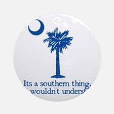 Southerntree Round Ornament