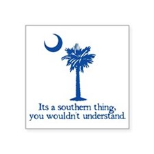 "Southerntree Square Sticker 3"" x 3"""