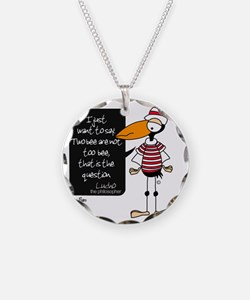 lucho Necklace Circle Charm