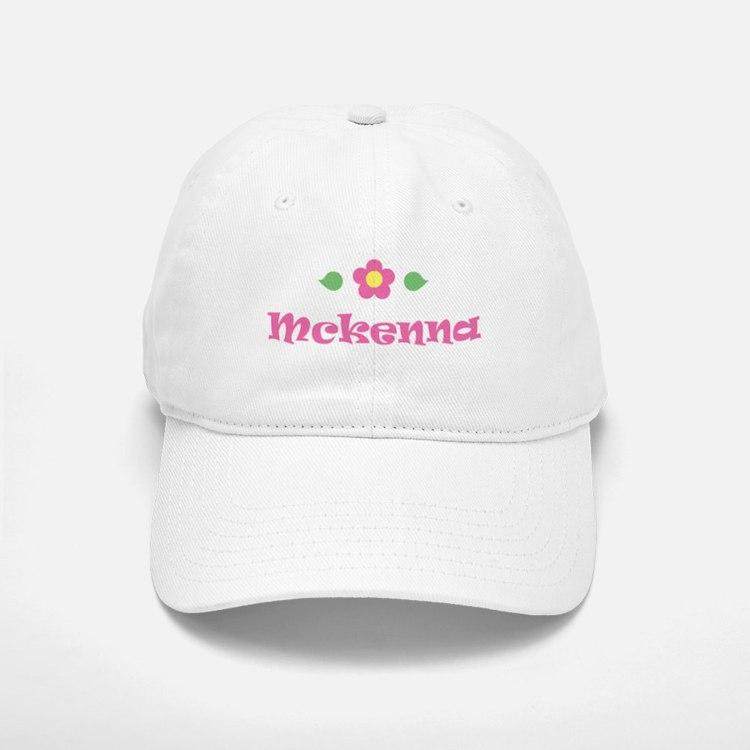 """Pink Daisy - """"Mckenna"""" Baseball Baseball Cap"""