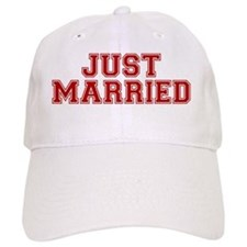 justmarriedred Baseball Cap