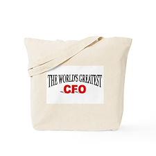 """The World's Greatest CFO"" Tote Bag"