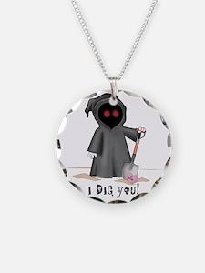 grim reaper valentine Necklace
