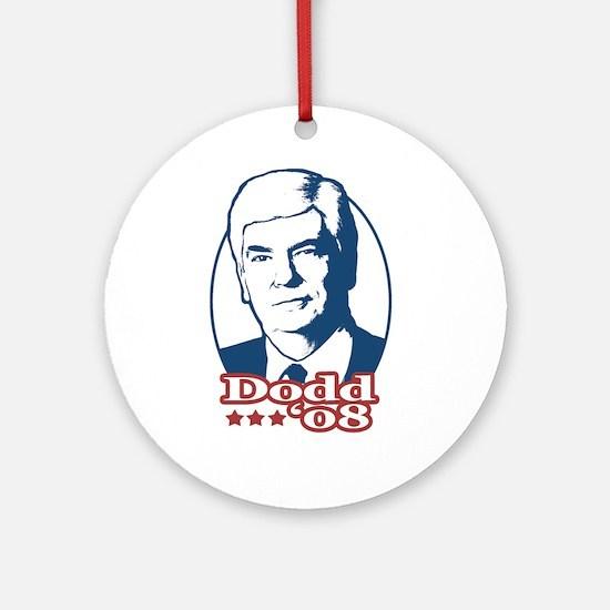 Chris Dodd for President Ornament (Round)
