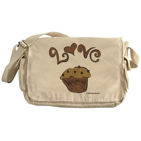 Love Muffin Messenger Bag