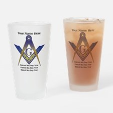 Masonic history Drinking Glass
