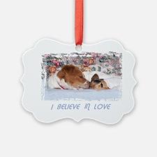 2-I BELIEVE IN LOVE Ornament