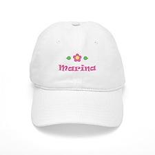 """Pink Daisy - """"Marina"""" Baseball Cap"""