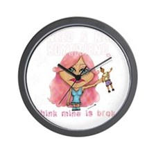 need new bf pink for dark ts Wall Clock