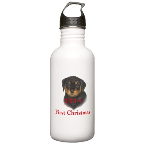 2014 First Christmas R Stainless Water Bottle 1.0L