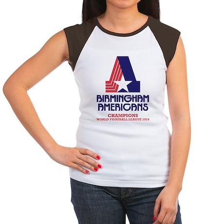 Birmingham Americans Women's Cap Sleeve T-Shirt