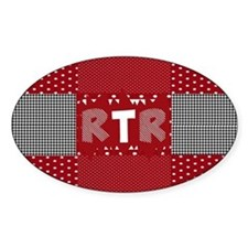 RTR houndstooth Decal