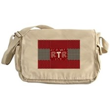 RTR houndstooth Messenger Bag