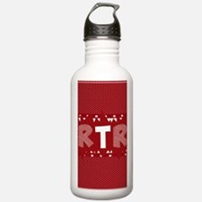 RTR houndstooth Water Bottle