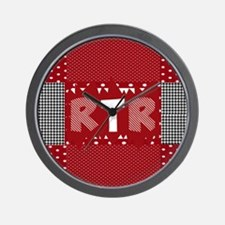 RTR houndstooth Wall Clock