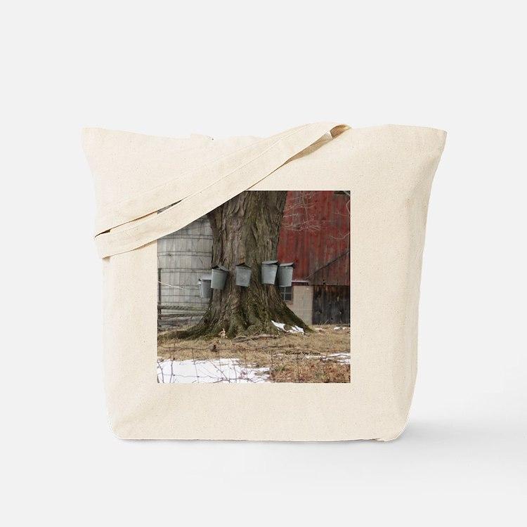 Maple Sap Time Tote Bag