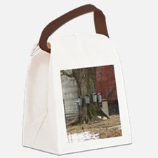 Maple Sap Time Canvas Lunch Bag