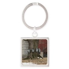 Maple Sap Time Square Keychain