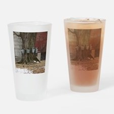 Maple Sap Time Drinking Glass