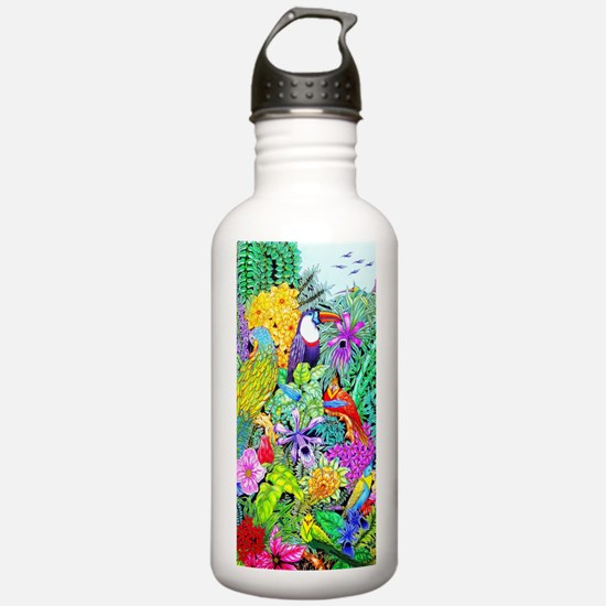 Nature's Sleeping Serenity Sports Water Bottle