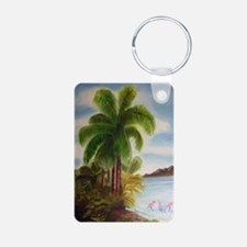 Royal Palm Poster Keychains