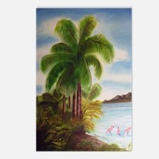 Royal Palm Poster Postcards (Package of 8)