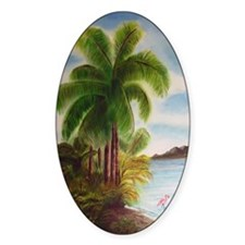 Royal Palm Poster Decal