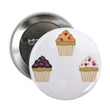 "Live Love Cupcakes 2.25"" Button"