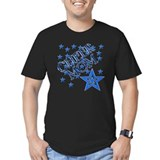 Cheer mom Fitted T-shirts (Dark)