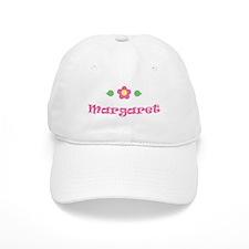 "Pink Daisy - ""Margaret"" Baseball Cap"