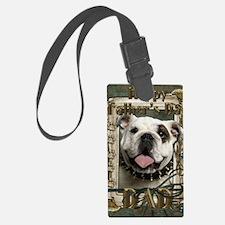 Stone_Paws_Bulldog_Lt_Dad Luggage Tag