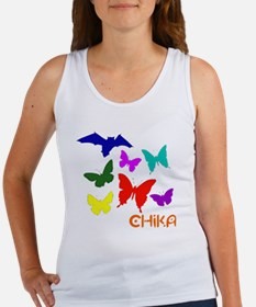 chika_butterflys_t Women's Tank Top
