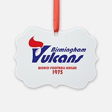Birmingham Vulcans (on black) Hig Ornament