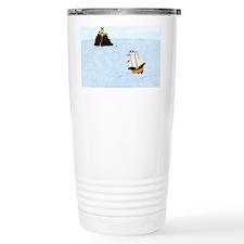 Sailing by the Castle 5 x 4 Travel Mug