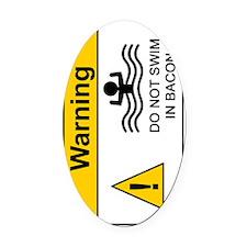 BaconBoy280_H_SIGG copy Oval Car Magnet