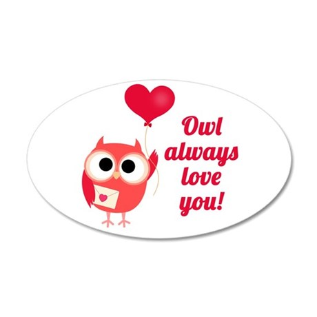 Owl Always Love You Wall Decal Sticker by lastingmoments