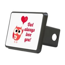 Owl Always Love You Hitch Cover