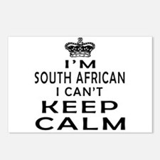 I Am South African I Can Not Keep Calm Postcards (