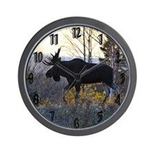 Handsome Bull Wall Clock
