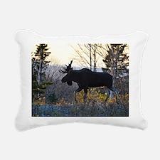 Handsome bull Rectangular Canvas Pillow