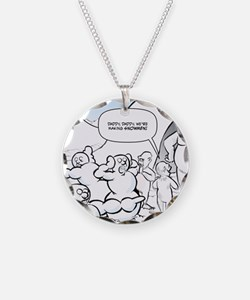 Abominable Snowmen Final Necklace