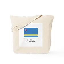 Aruba - Flag Tote Bag