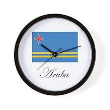 Aruba - Flag Wall Clock