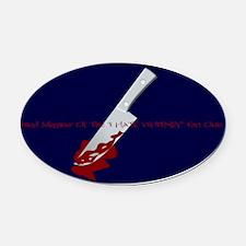 I Hate Whitney 5x3 oval sticker wi Oval Car Magnet