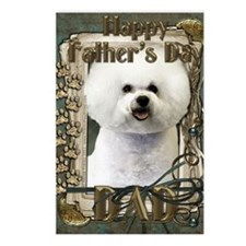 Stone_Paws_Bichon_Frise_D Postcards (Package of 8)